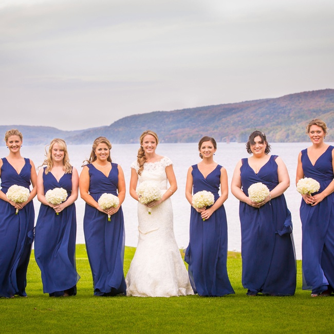 Ashley Found The Perfect Long Bridesmaid Dresses By Joanna