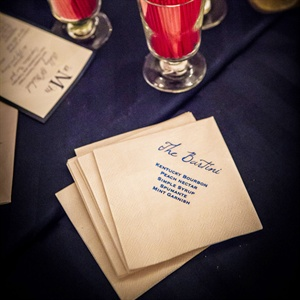 Signature Drink Napkins