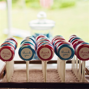 Playful Lollipop Favors