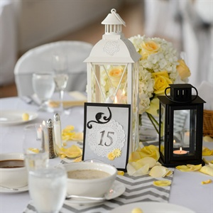 Doily Detail Table Numbers