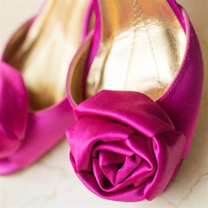 Fuchsia Pumps