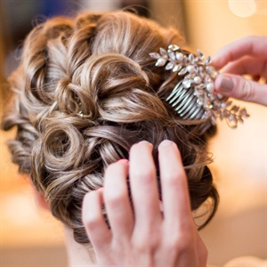 Soft Bridal Updo