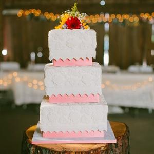 Stunning Lace Cake