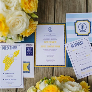 Bright Nautical Invitations