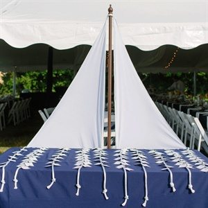 Sailboat Escort Card Table
