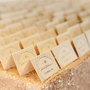 Glam Escort Cards