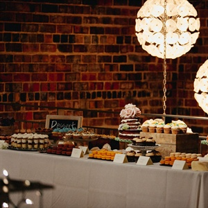 Contemporary Dessert Table