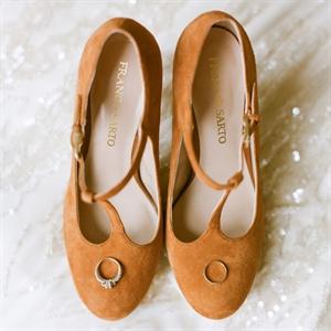 Retro Bridal Heels