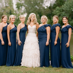 Formal One-Shoulder Bridesmaid Dresses