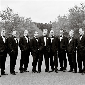 Classic Tuxedo Groomsmen Attire