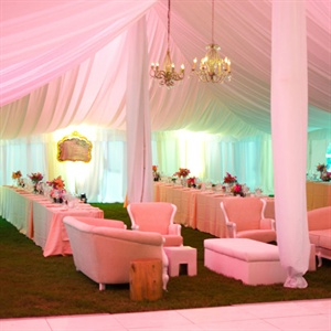 Formal Tented Reception