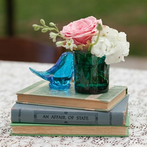 Antique Book Centerpiece