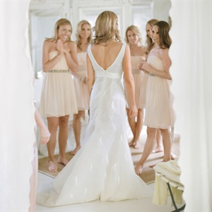 Simple Bridal Party Hairstyles