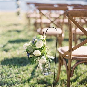 Mason Jar Aisle Decor