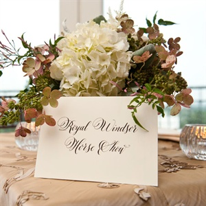 Equestrian Table Names