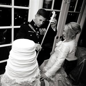 Military Cake Cutting