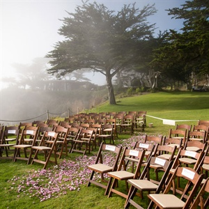 Dark Brown Ceremony Chairs