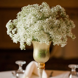 Elegant Baby's Breath Centerpieces