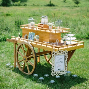 Antique Dessert Trolley