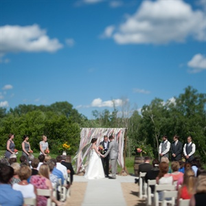 Timeless Outdoor Ceremony