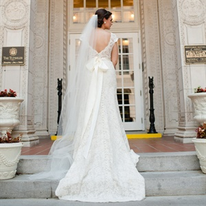 Timeless Lace Wedding Gown