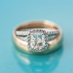 Timeless Cut Halo Engagement Ring