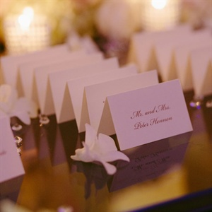 Classic Folded Escort Cards