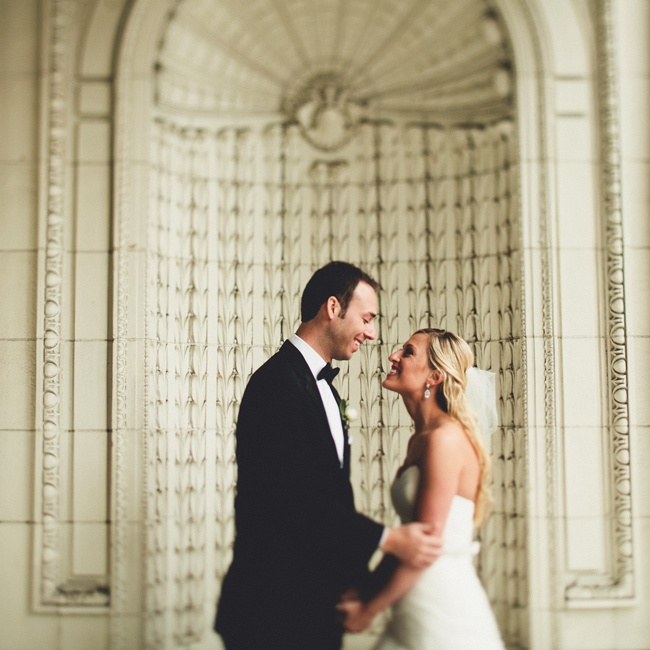 Blakely and Matt exchanged vows at a historic Seattle landmark, The Arctic Club Hotel.