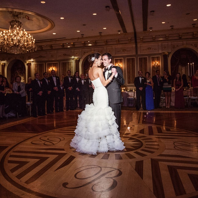 After over ten years of dating, Erica and James celebrated their love with friends and family during a formal ballroom reception.
