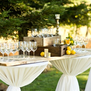 Rustic Cocktail Hour Decor