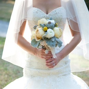 Poppy Pod Bridal Bouquet