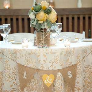 Embroidered Reception Tablecloths