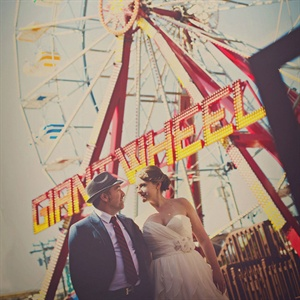 Playful Wedding Portraits