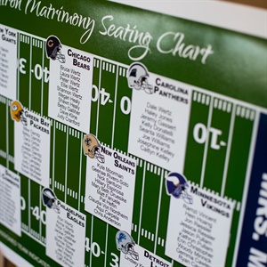 Football Field-Inspired Seating Assignments