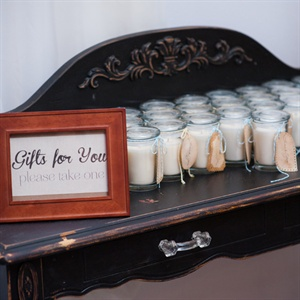 Homemade Candle Favors