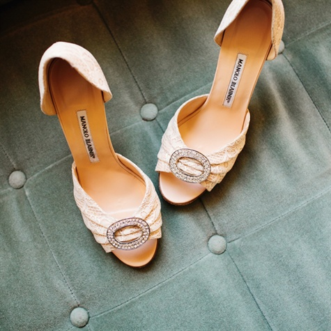 Manolo Blahnik Bridal Shoes