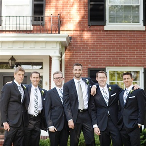 Navy Groomsmen Look