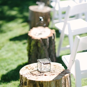 Rustic Woodland Aisle Decor