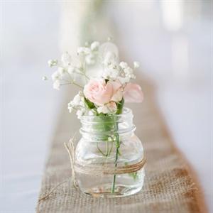 Mason Jar Bud Vases