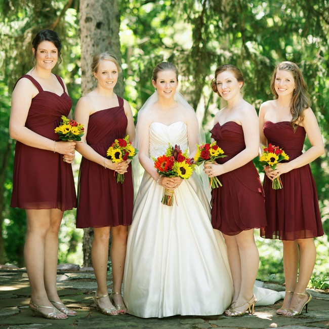 301 moved permanently for Burgundy and gold wedding dress