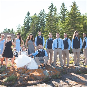Nautical Bridal Party Look