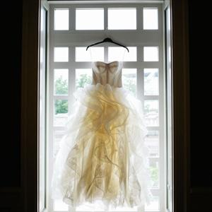 Custom Vera Wang Gown