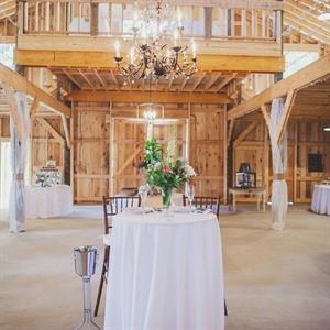 Elegant Barn Reception Space