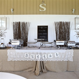 Wedding Reception Buffet