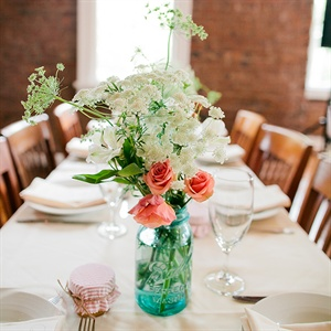 Queen Anne's Lace Centerpiece