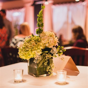 Green Floral Centerpiece