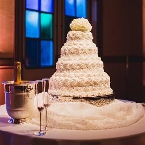 Elegant Frosted Cake