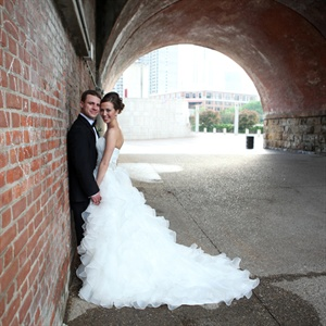 Crystal Embellished Ball Gown