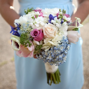 Bright Spring Bridesmaid Bouquet