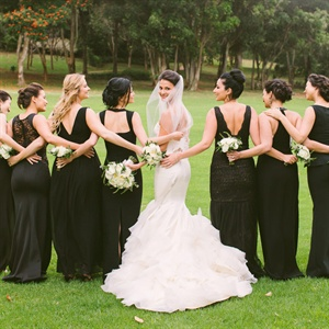 Formal Mismatched Bridesmaid Dresses